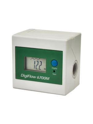 6700M Digital Flow Meter 1.5~14.1 L/Min - 3/8