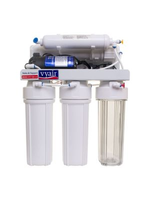 RO-1 Pumped 5-Stage Reverse Osmosis 50 Gallon Per Day Drinking Water Filter System