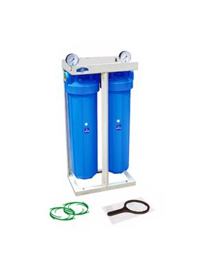 20 Inch Twin Whole House Water System