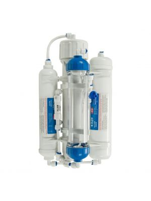 Compact 4-Stage Reverse Osmosis 50GPD (185 Litres) Fish & Aquarium Water Filter System DI Resin Stage