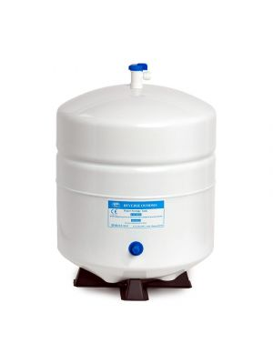 3.2 US Gallons (12 Litres) Stainless Steel Reverse Osmosis (RO) Storage Tank including Quick-Fit Pressure Valve Tap